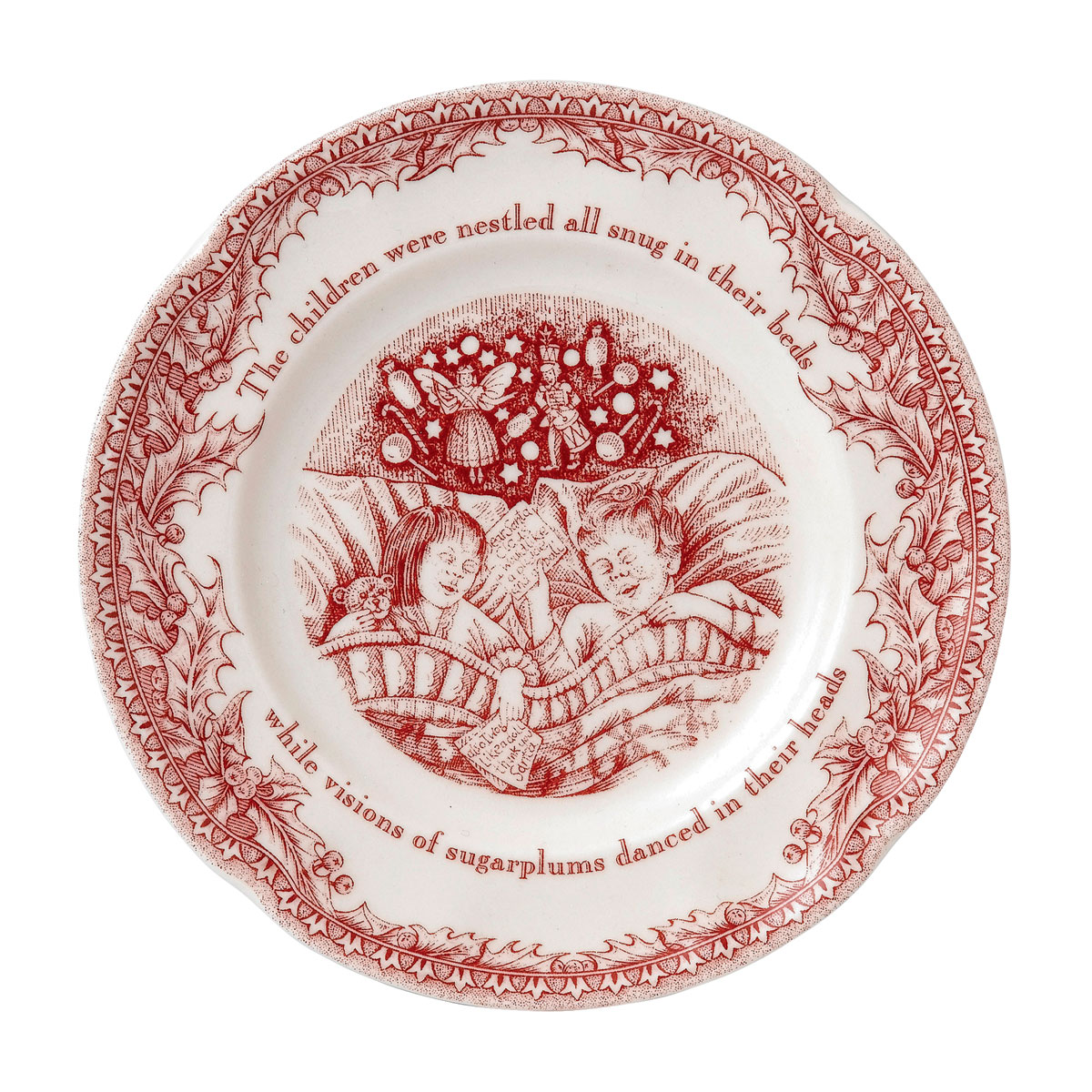 Johnson Brothers Twas The Night Bread %26 Butter Plate, Single