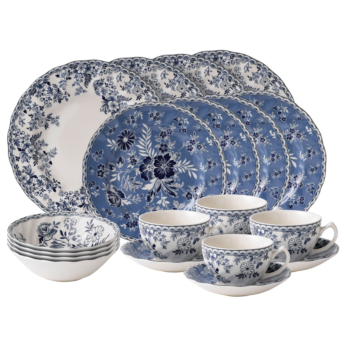 Johnson Brothers China Devon Cottage, 20 Piece Place Setting