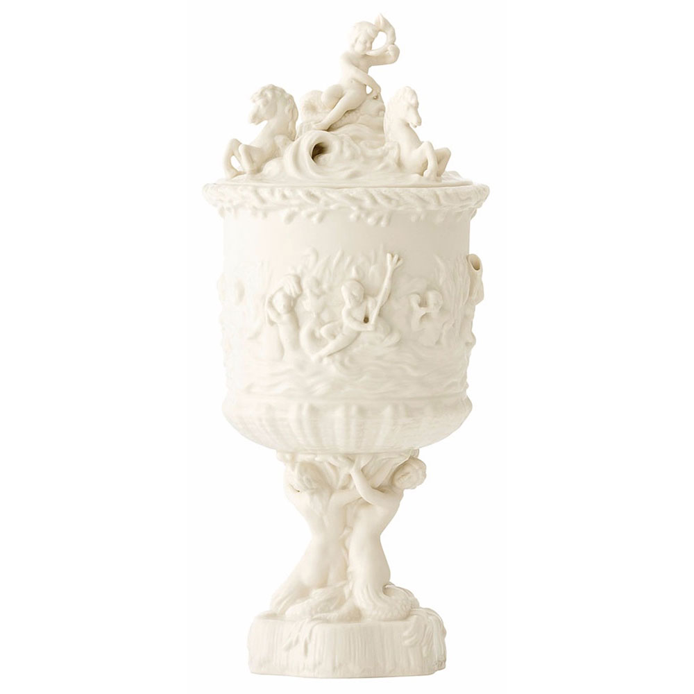 Belleek Masterpiece Collection Prince of Wales Ice Pail Limited Edition
