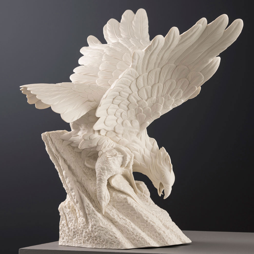 Belleek Masterpiece Collection Golden Eagle Limited Edition