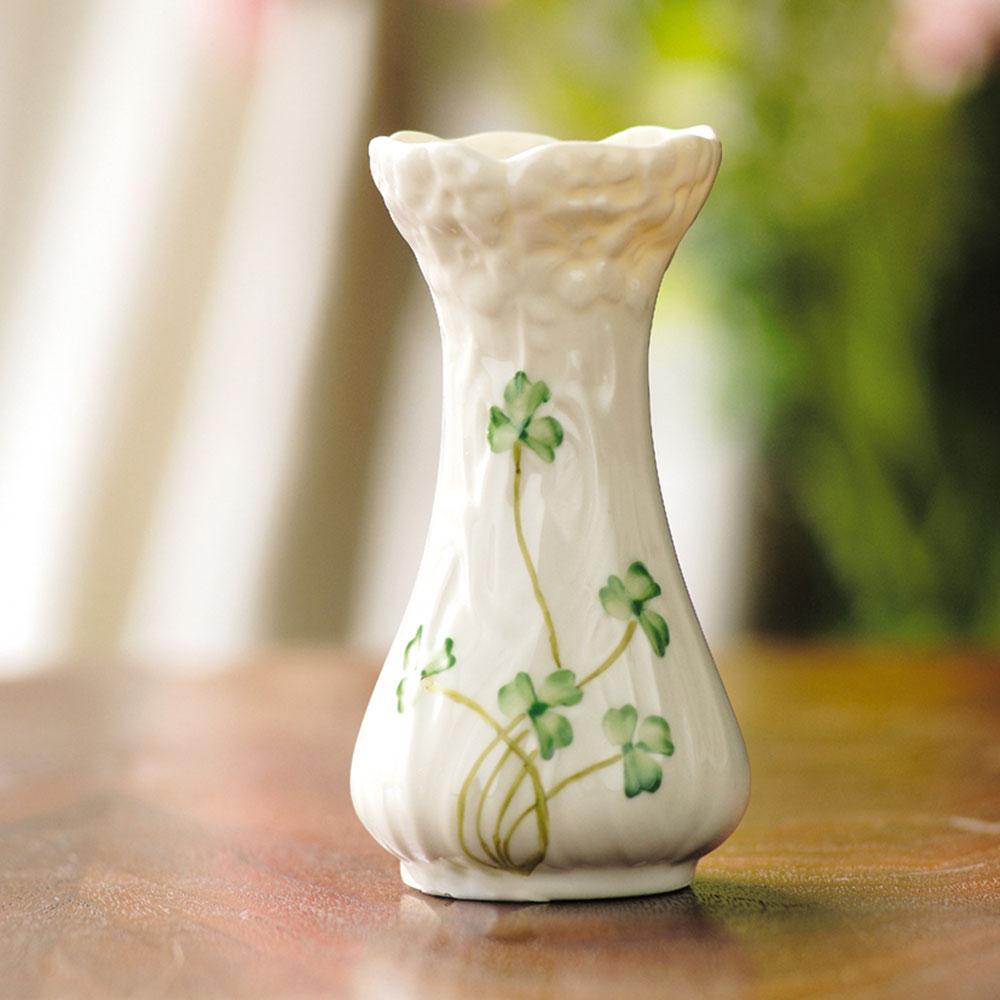 Belleek China Daisy Toy Spill Vase
