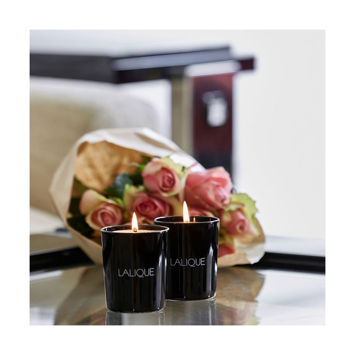 Lalique Mediterranean Colours Scented Candles, Gift Set of 3
