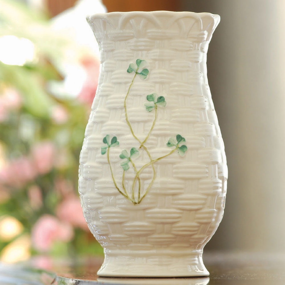 "Belleek China Kylemore 7"" Vase"