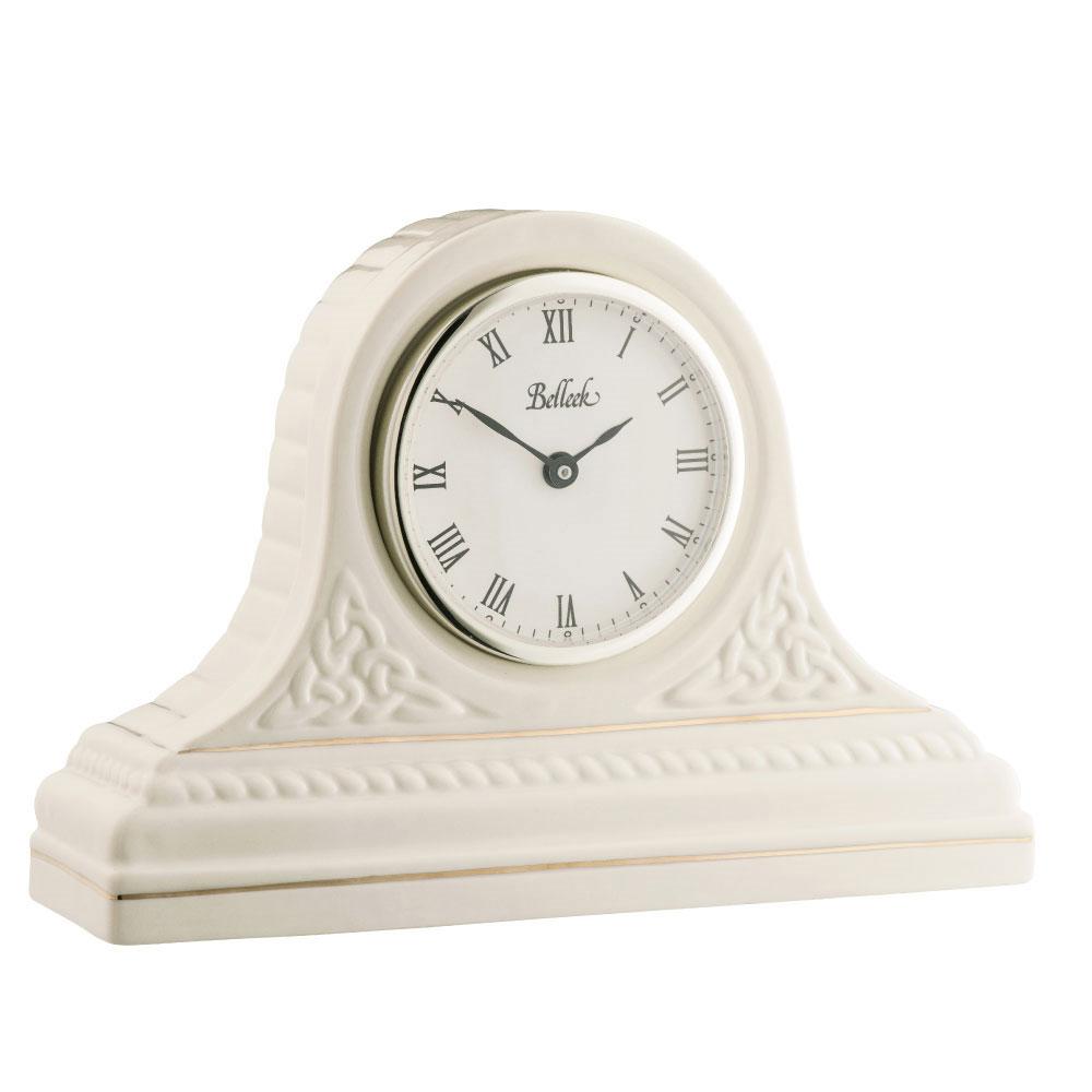 Belleek Masterpiece Collection Celtic Mantel Clock