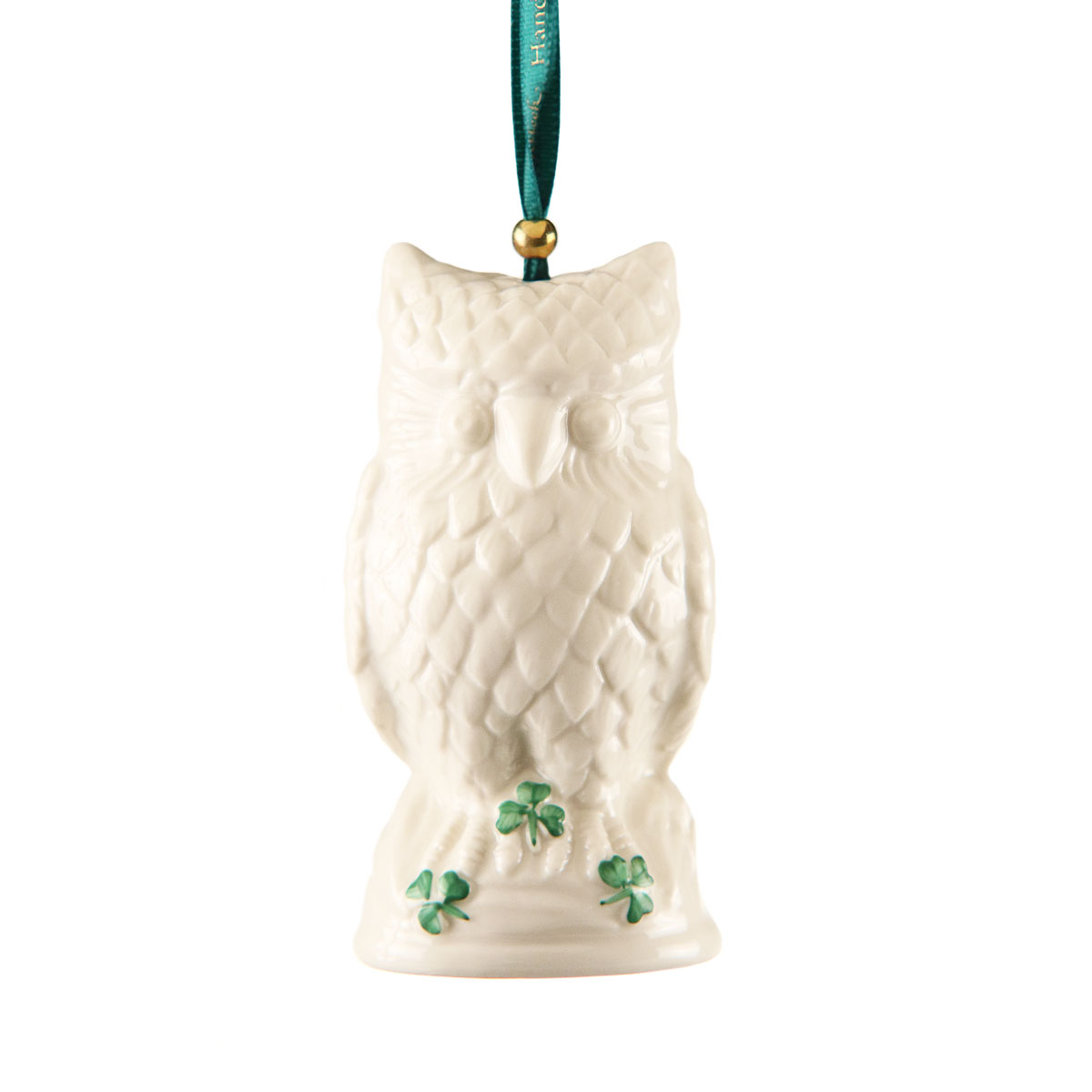 Belleek Winter Owl 2020 Christmas Ornament, Limited Edition