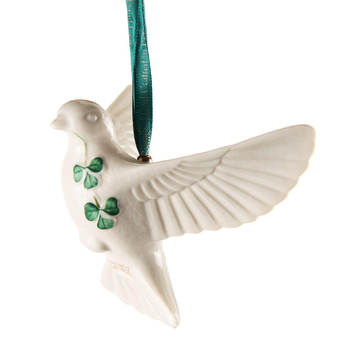 Belleek 2021 Dove Ornament