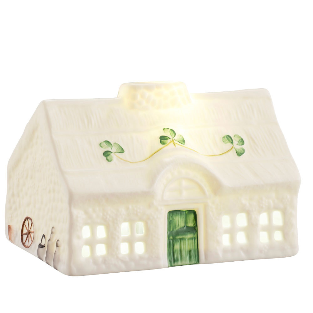Belleek Blarney Cottage LED Light