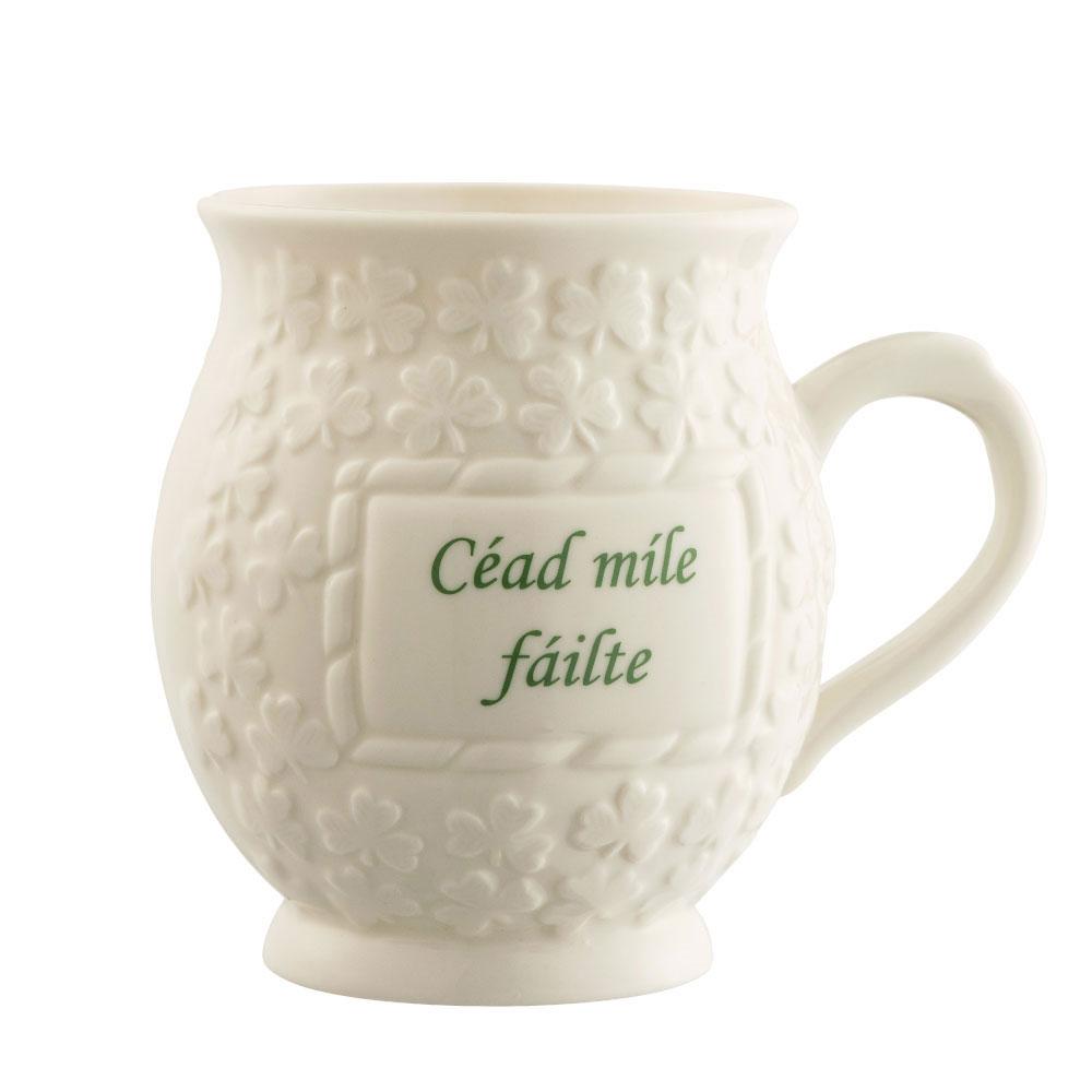 Belleek Cead Mile Failte Mug