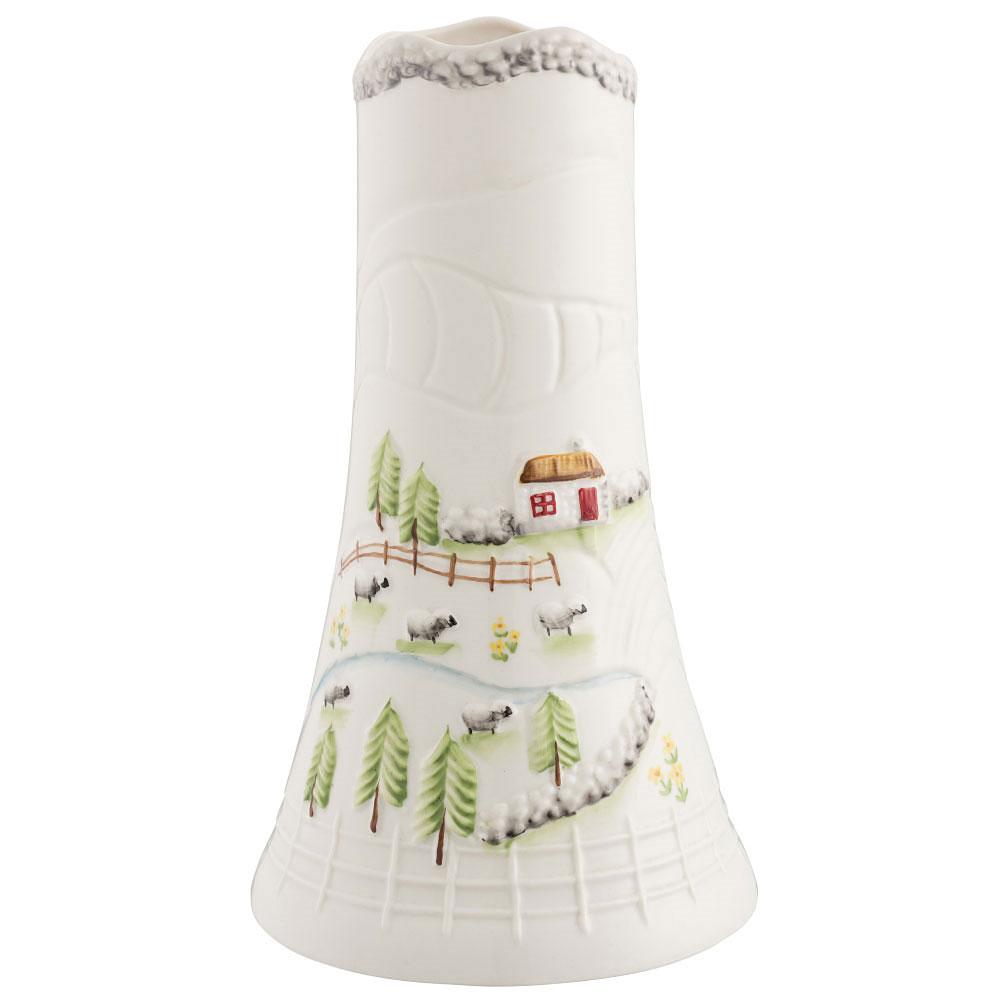 "Belleek Connemara 9"" Vase"