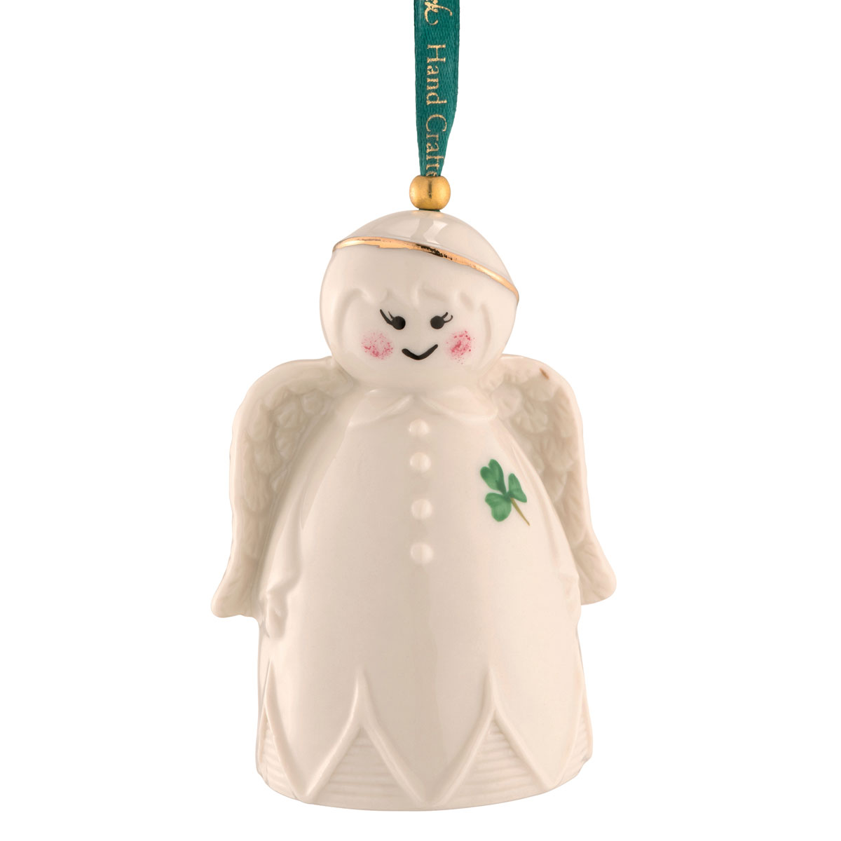 Belleek 2021 Angel Bell Ornament