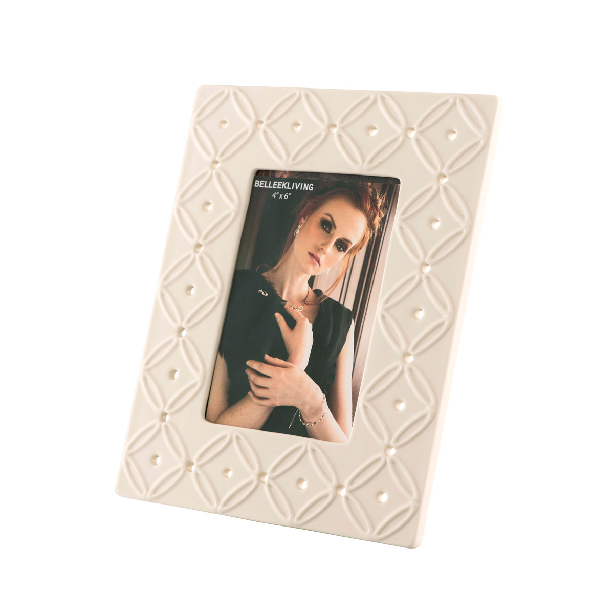 """Belleek Living Inish 4"""" x 6"""" Picture Frame"""