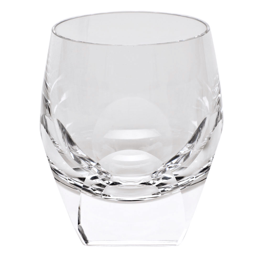 Moser Crystal Bar DOF Tumbler, Clear, Single