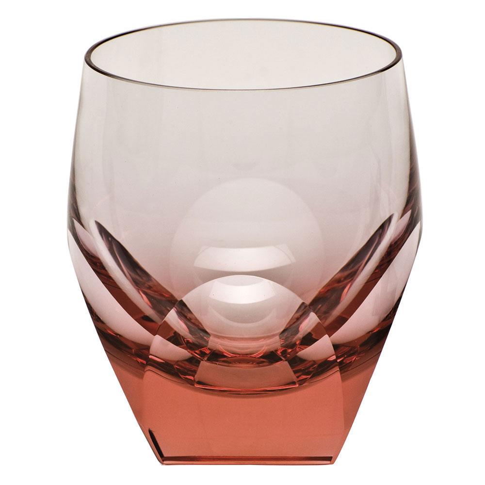 Moser Crystal Bar DOF Tumbler, Rosalin, Single