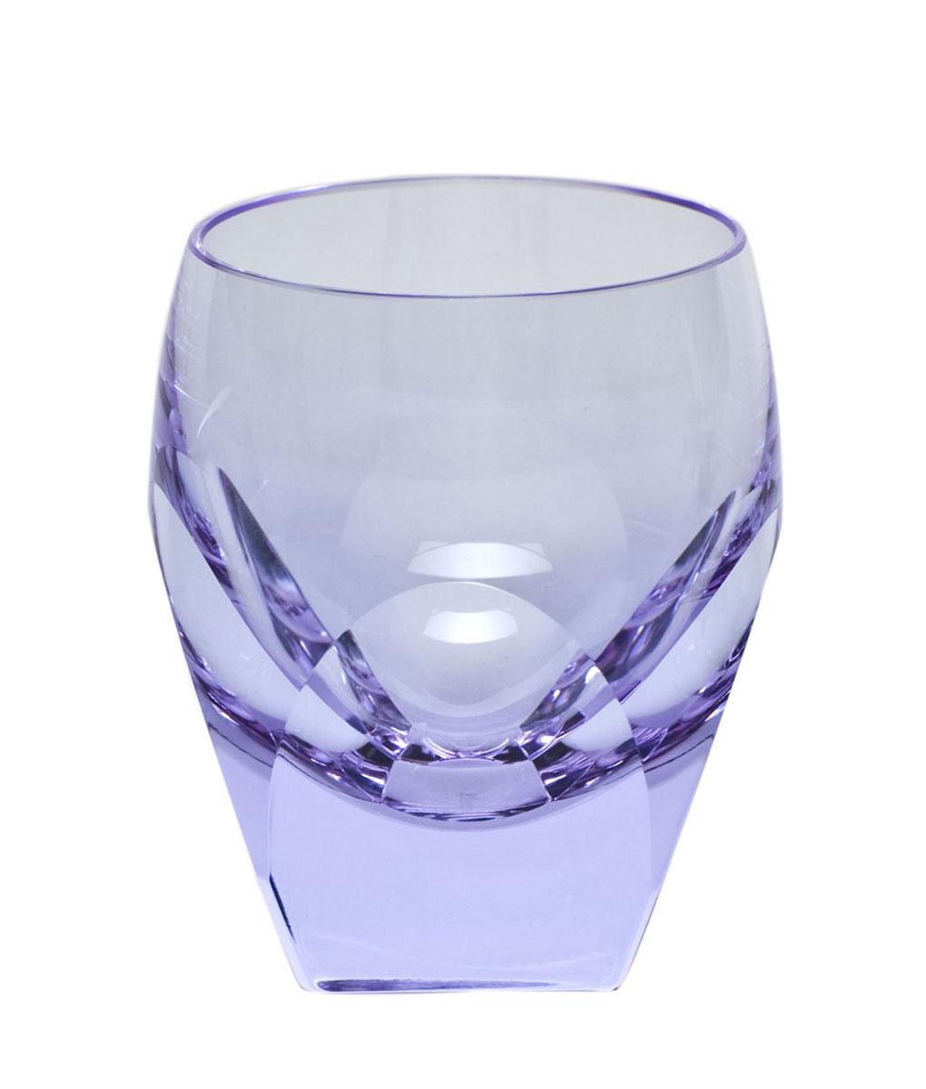 Moser Crystal Bar Shot Glass 1.5 Oz. Alexandrite