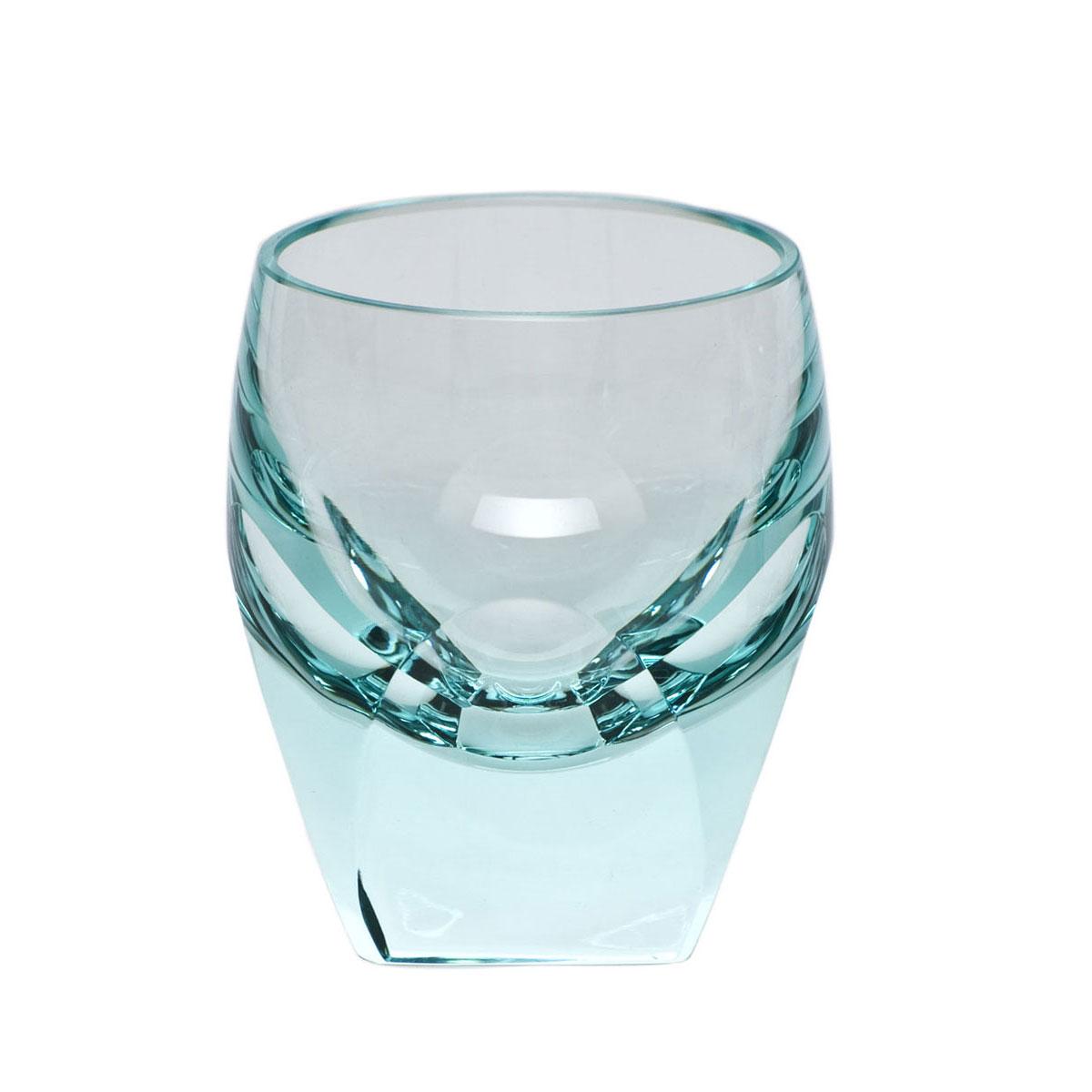 Moser Crystal Bar Shot Glass 1.5 Oz. Beryl