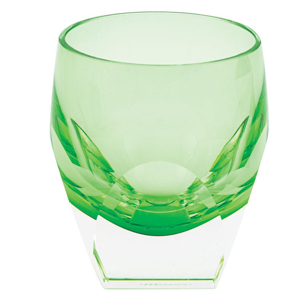 Moser Bar Shot Glass Green, Single