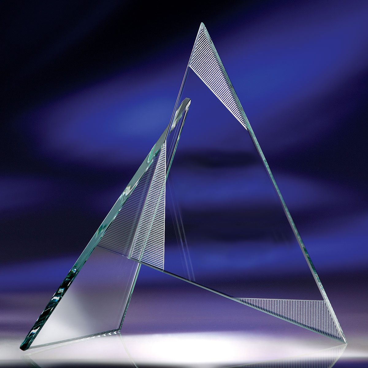 Crystal Blanc, Personalize! Zephyr Award, Large
