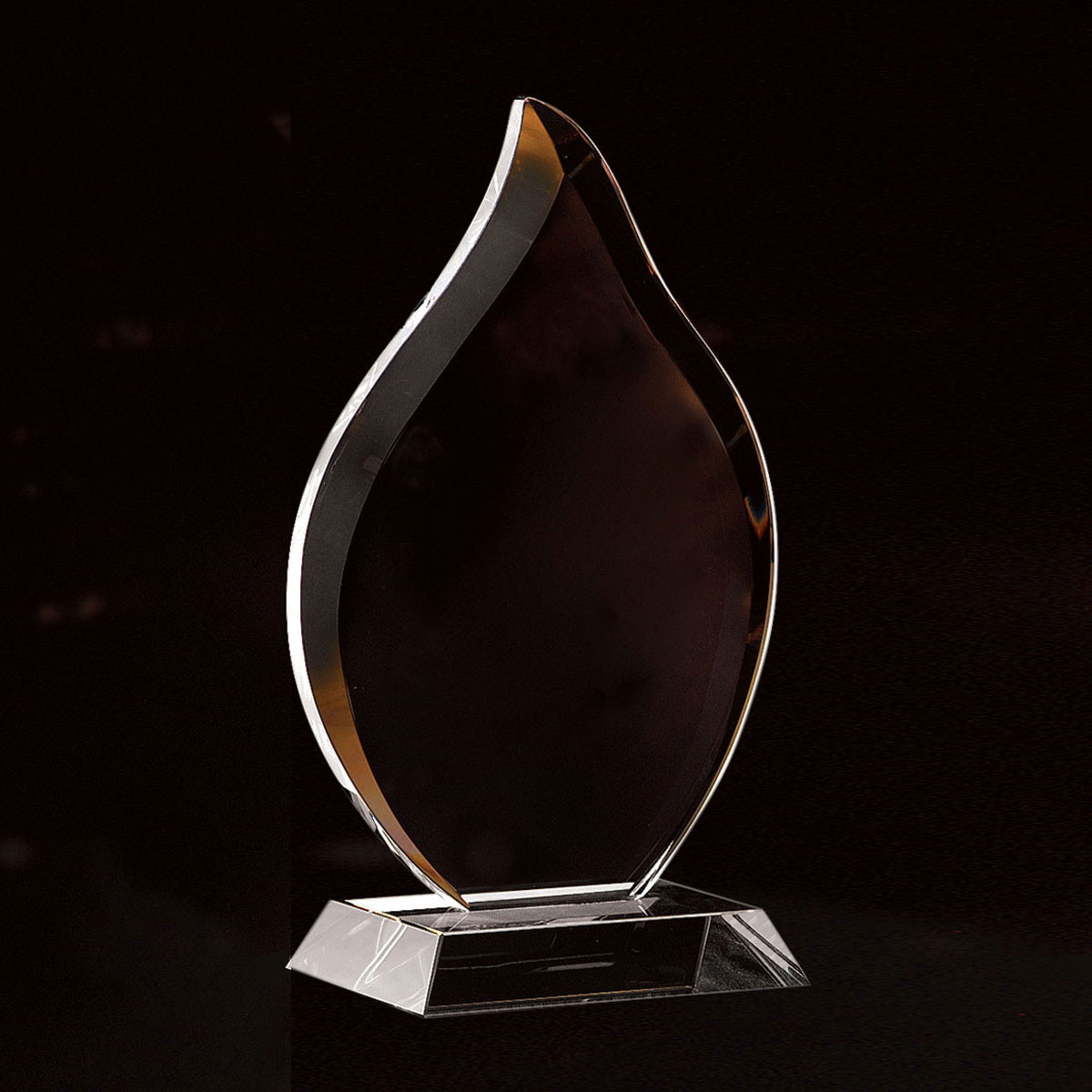 Crystal Blanc, Personalize! Flame Award, Small