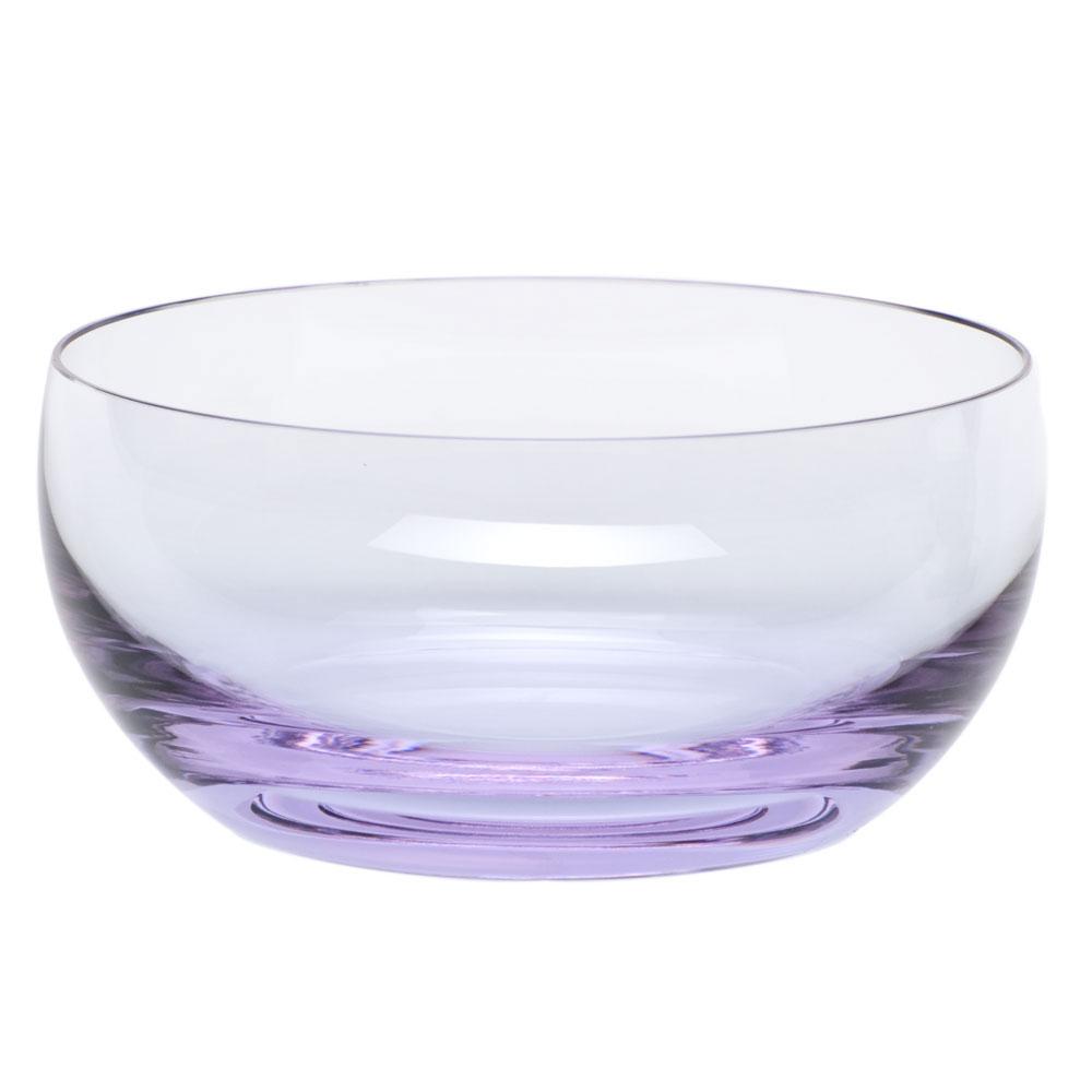 Moser Crystal Culbuto Bowl, Alexandrite