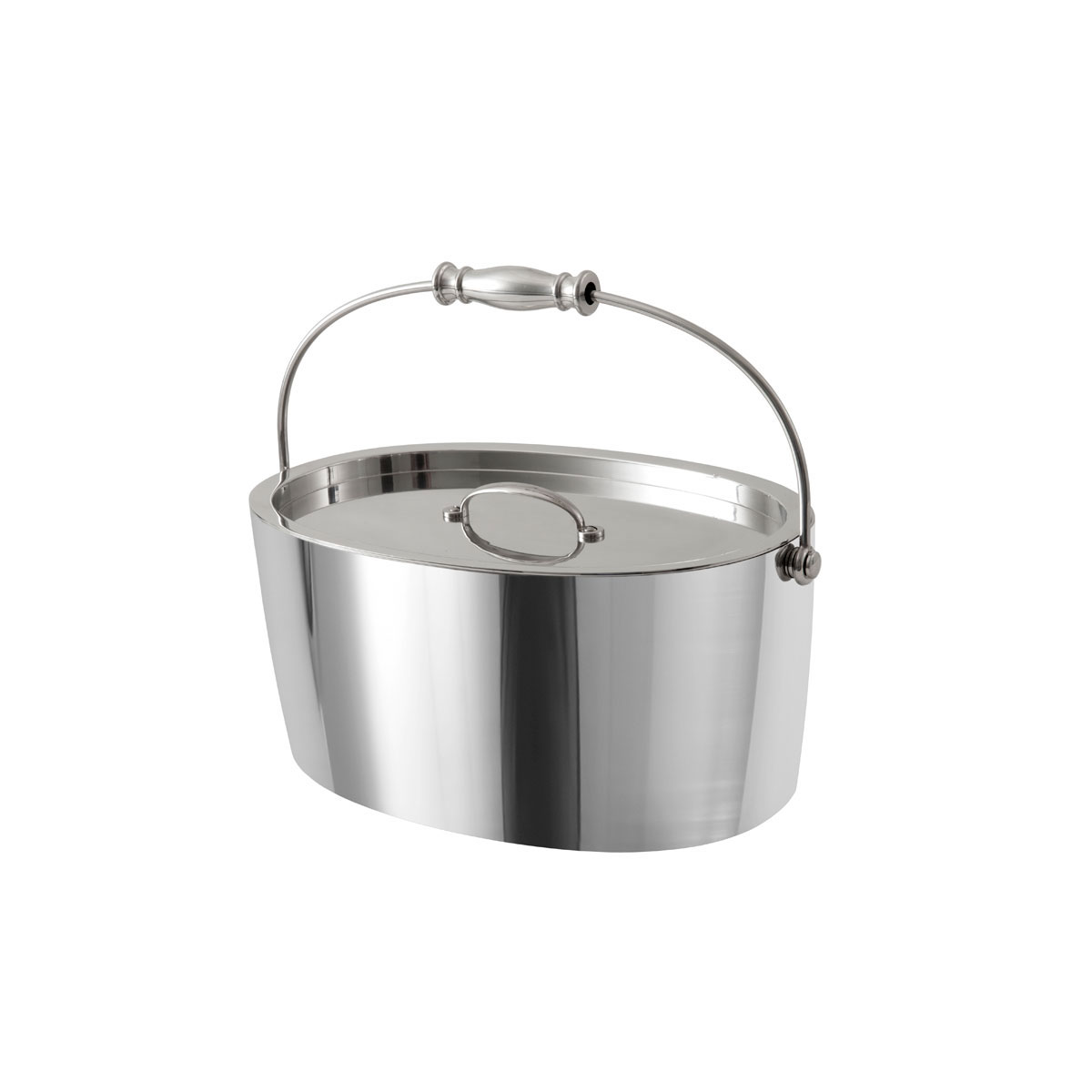 Crafthouse by Fortessa Professional Barware, Stainless Steel Ice Bucket with Lid