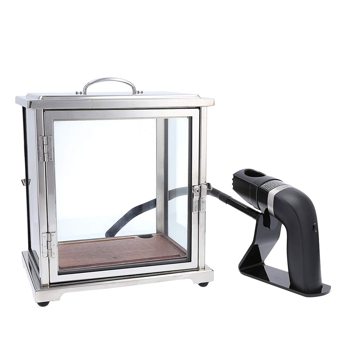 Crafthouse By Fortessa The Smoking Box with Handheld Smoker