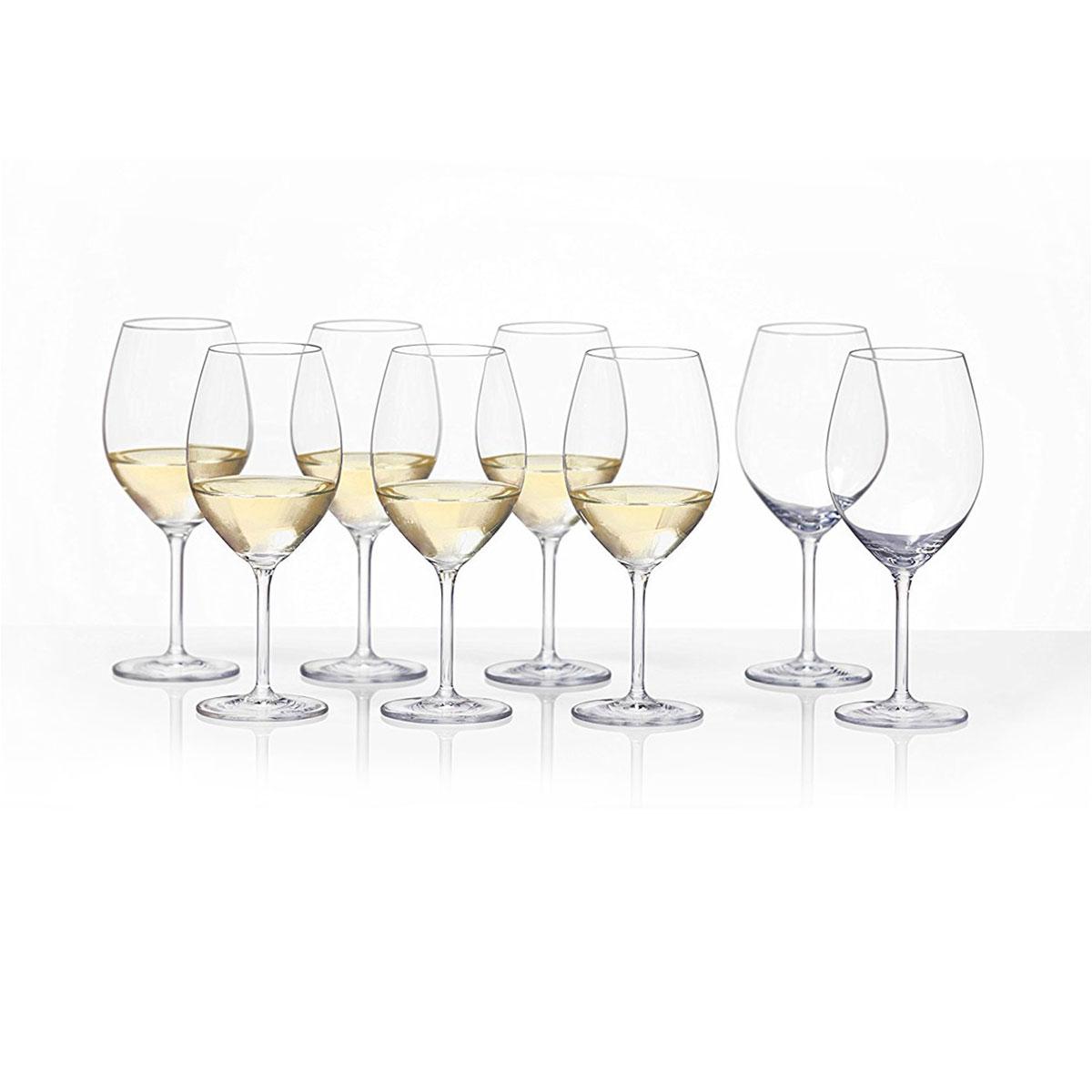 Schott Zwiesel Tritan Crystal Cru Classic Full White Wine Set 6 2 Free Crystal Classics