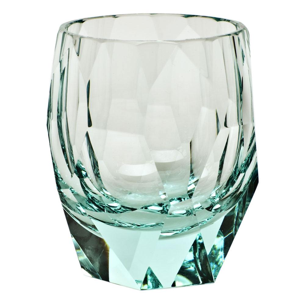 Moser Crystal Cubism DOF, Beryl