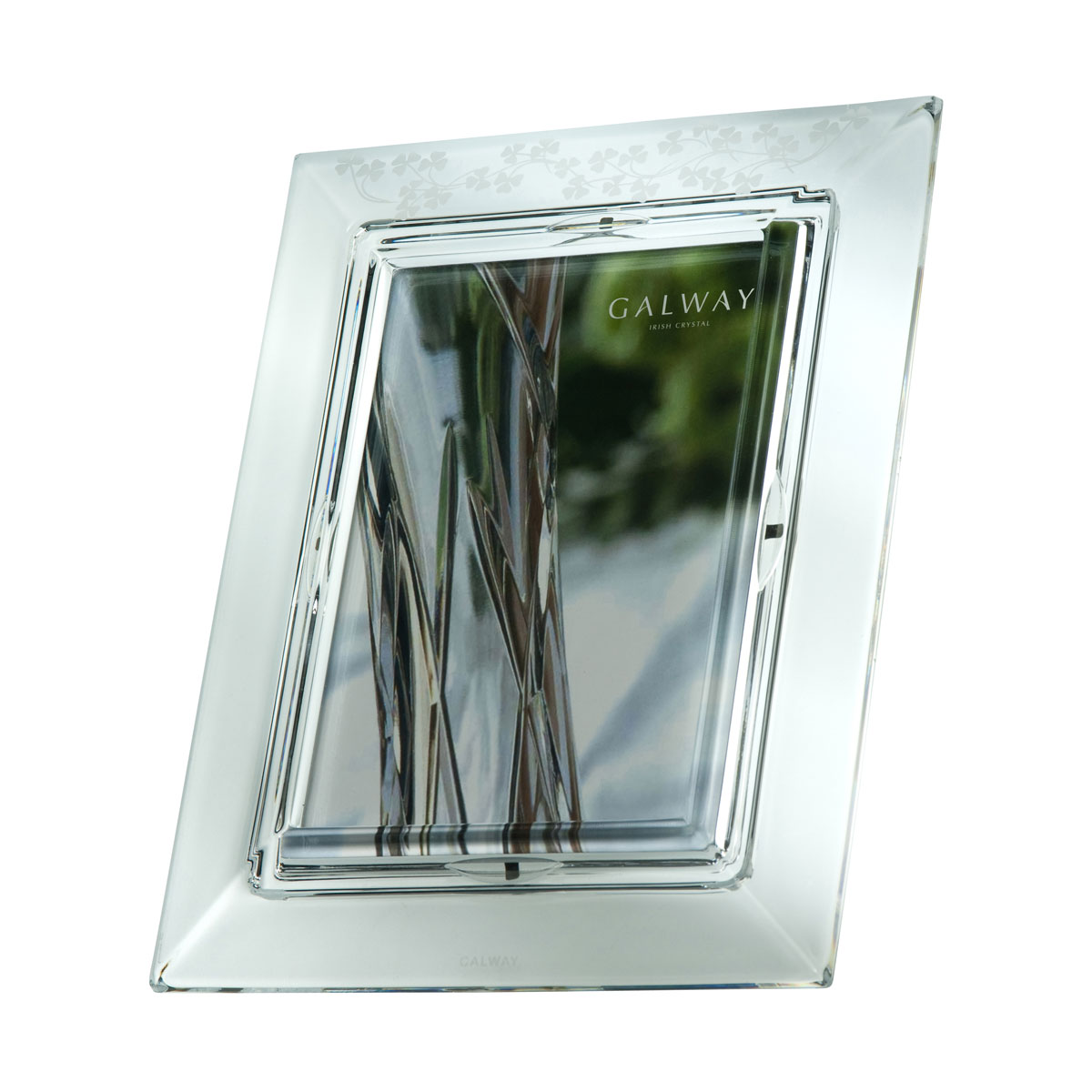 "Galway Shamrock 5x7"" Picture Frame"