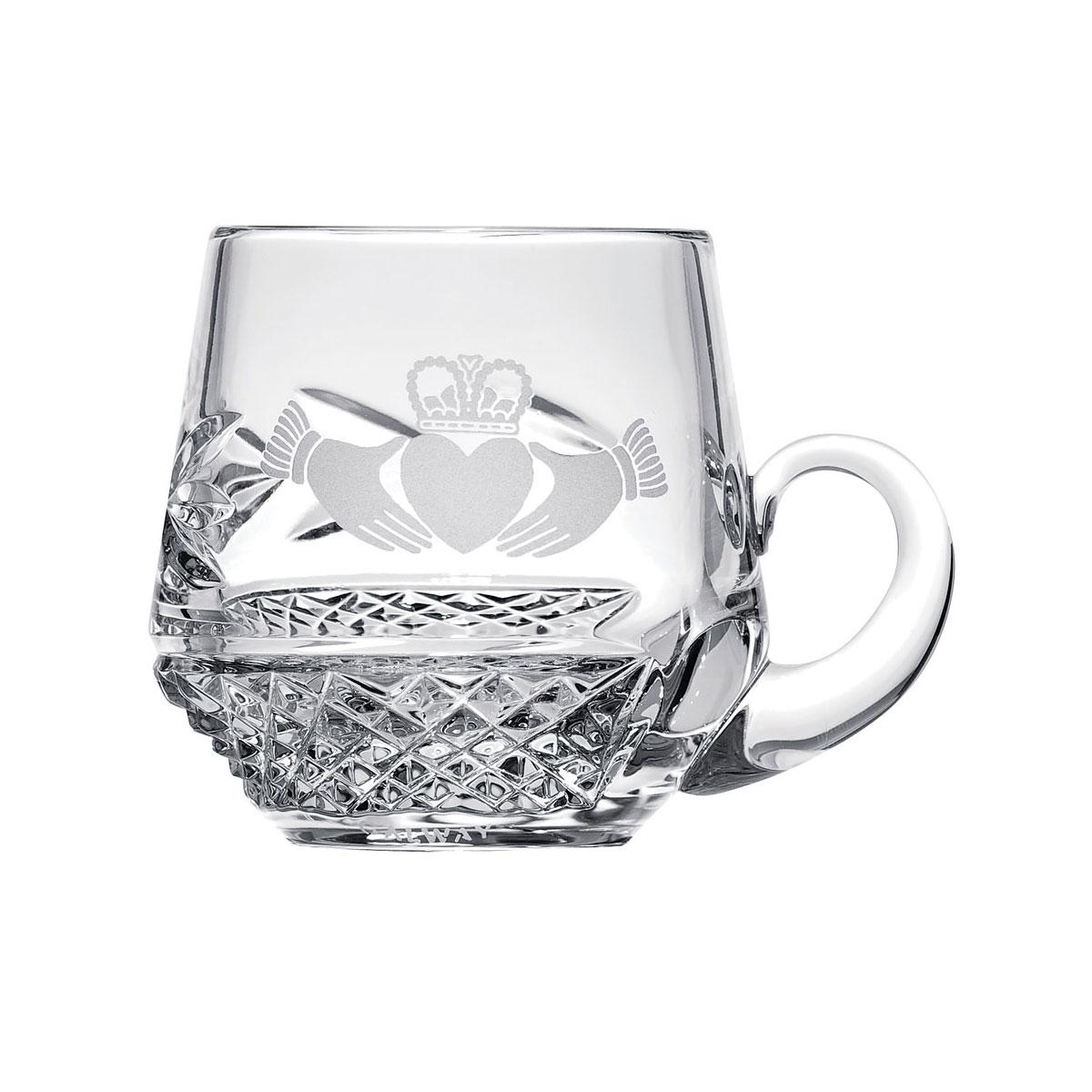 Galway Claddagh Christening Mug