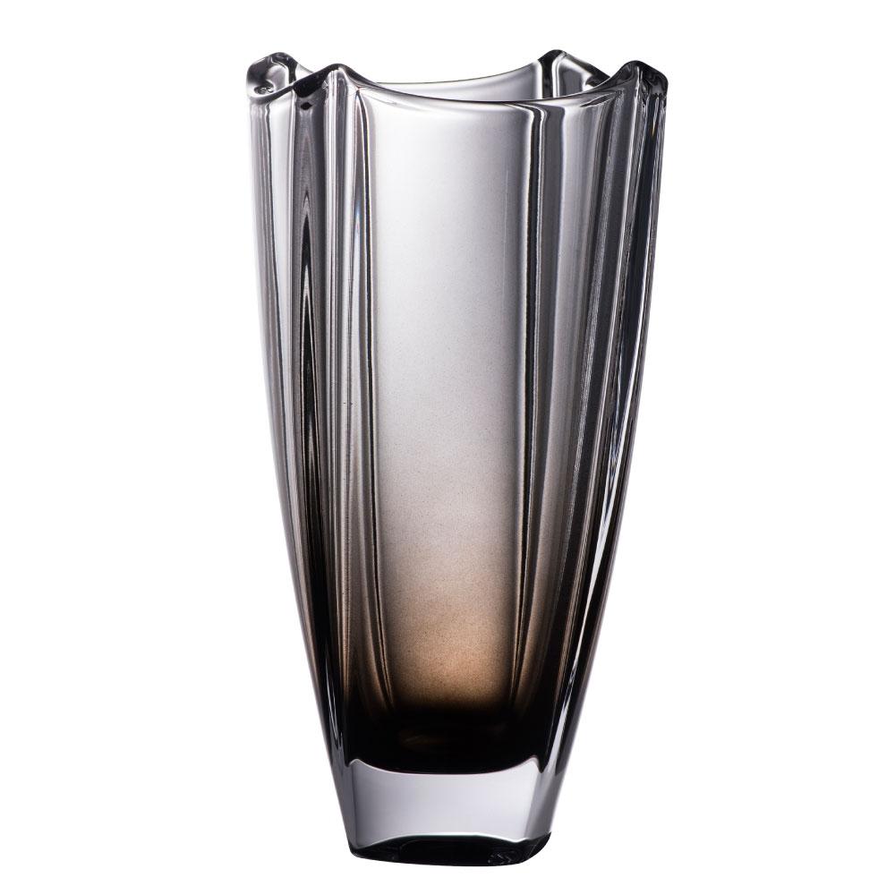 "Galway Onyx Dune 10"" Square Vase"
