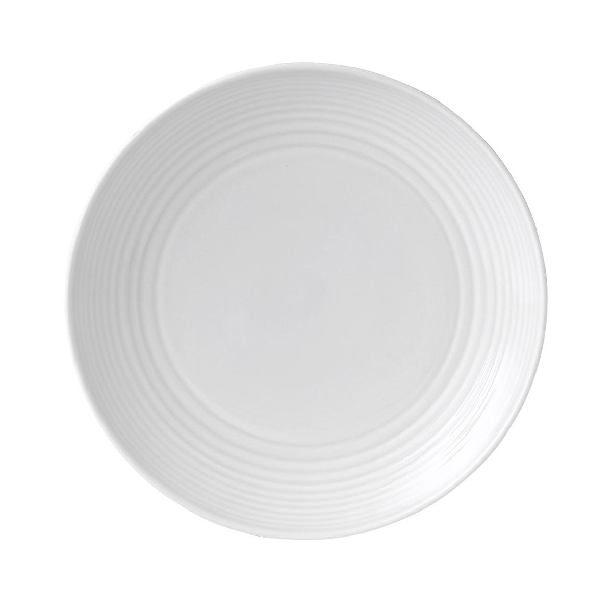 "Royal Doulton Gordon Ramsay Maze White Salad Plate 8.8"""
