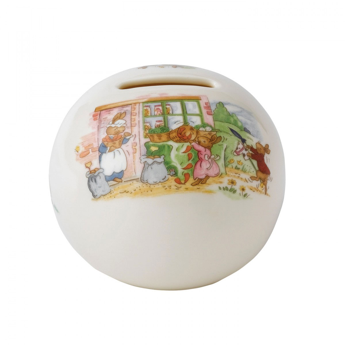 Royal Doulton China Bunnykins Baby Bank Money Ball