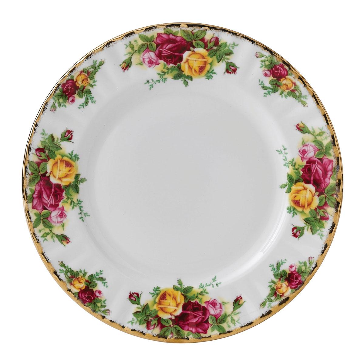 Royal Albert Old Country Roses Salad Plate, Single