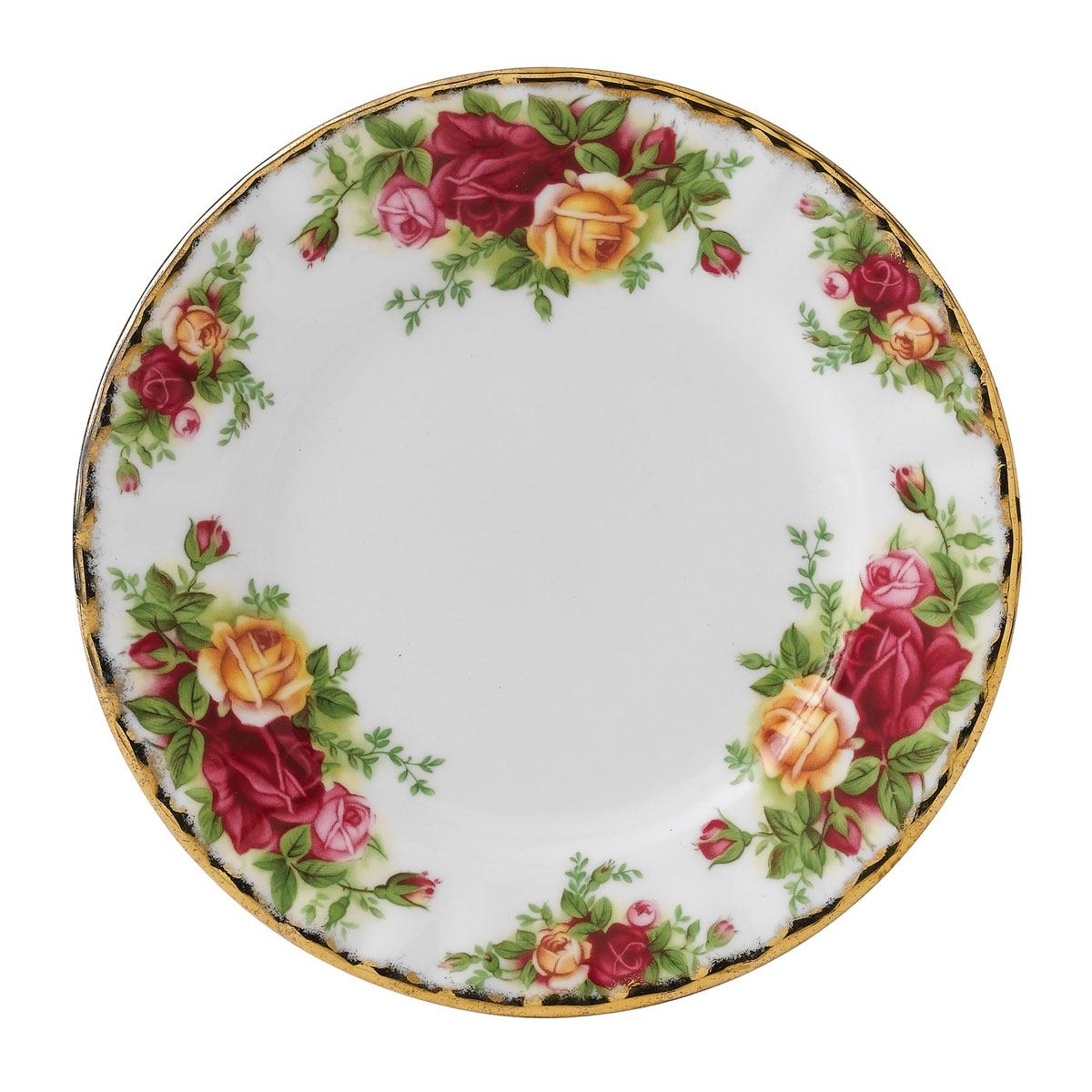 """Royal Albert Old Country Roses Bread and Butter Plate 6.3"""""""