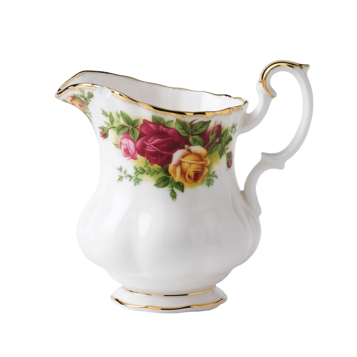 Royal Albert Old Country Roses Creamer 7.5 Oz
