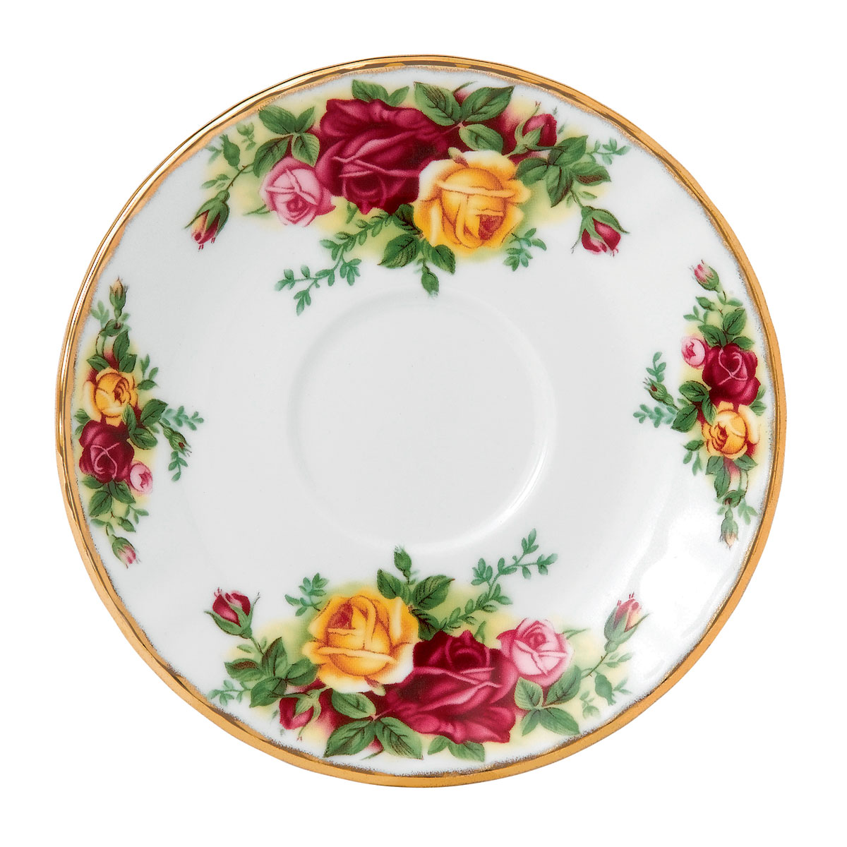 """Royal Albert Old Country Roses Espresso Saucer 5"""""""