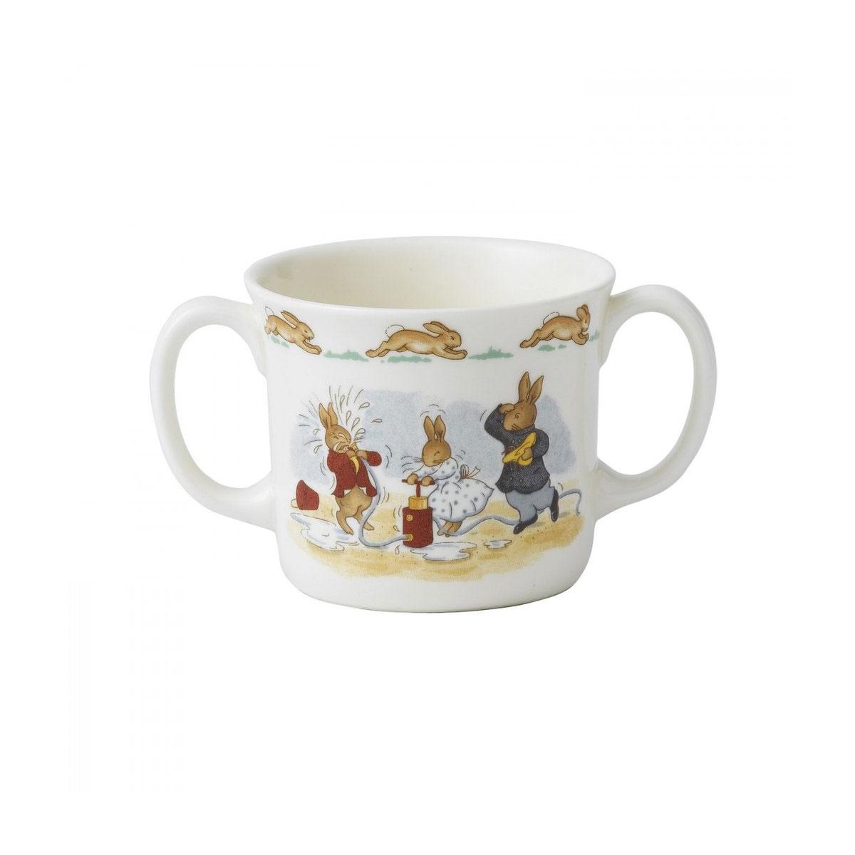 Royal Doulton Bunnykins Hug a Mug, Two Handled