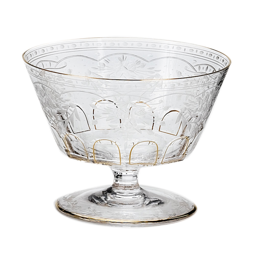 Moser Crystal Maharani Pedestal Bowl