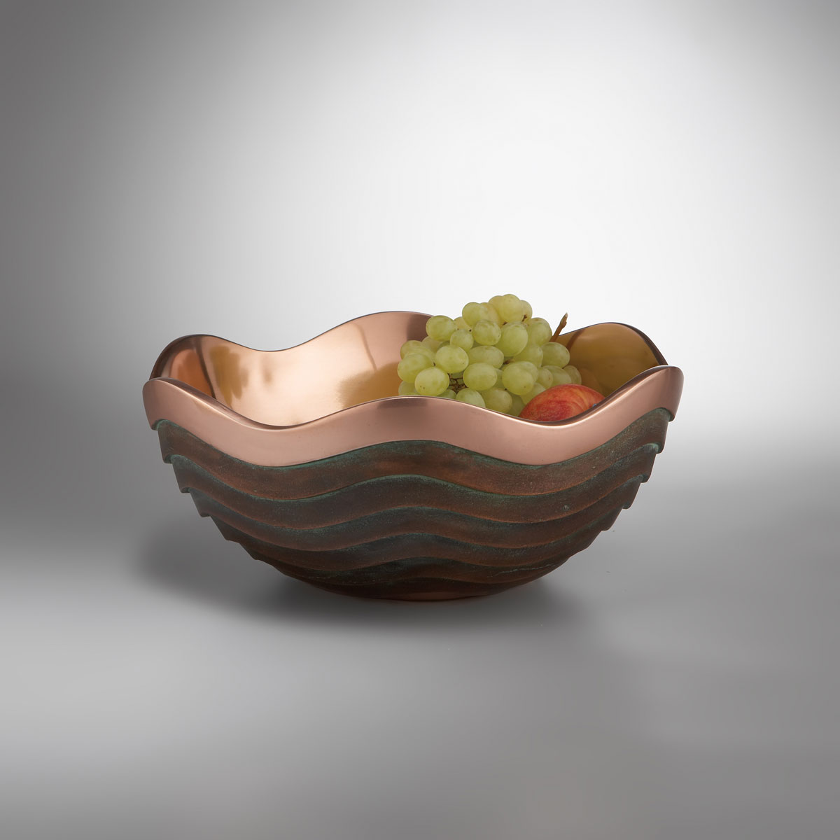 "Nambe Metal Copper Canyon 10"" Bowl"