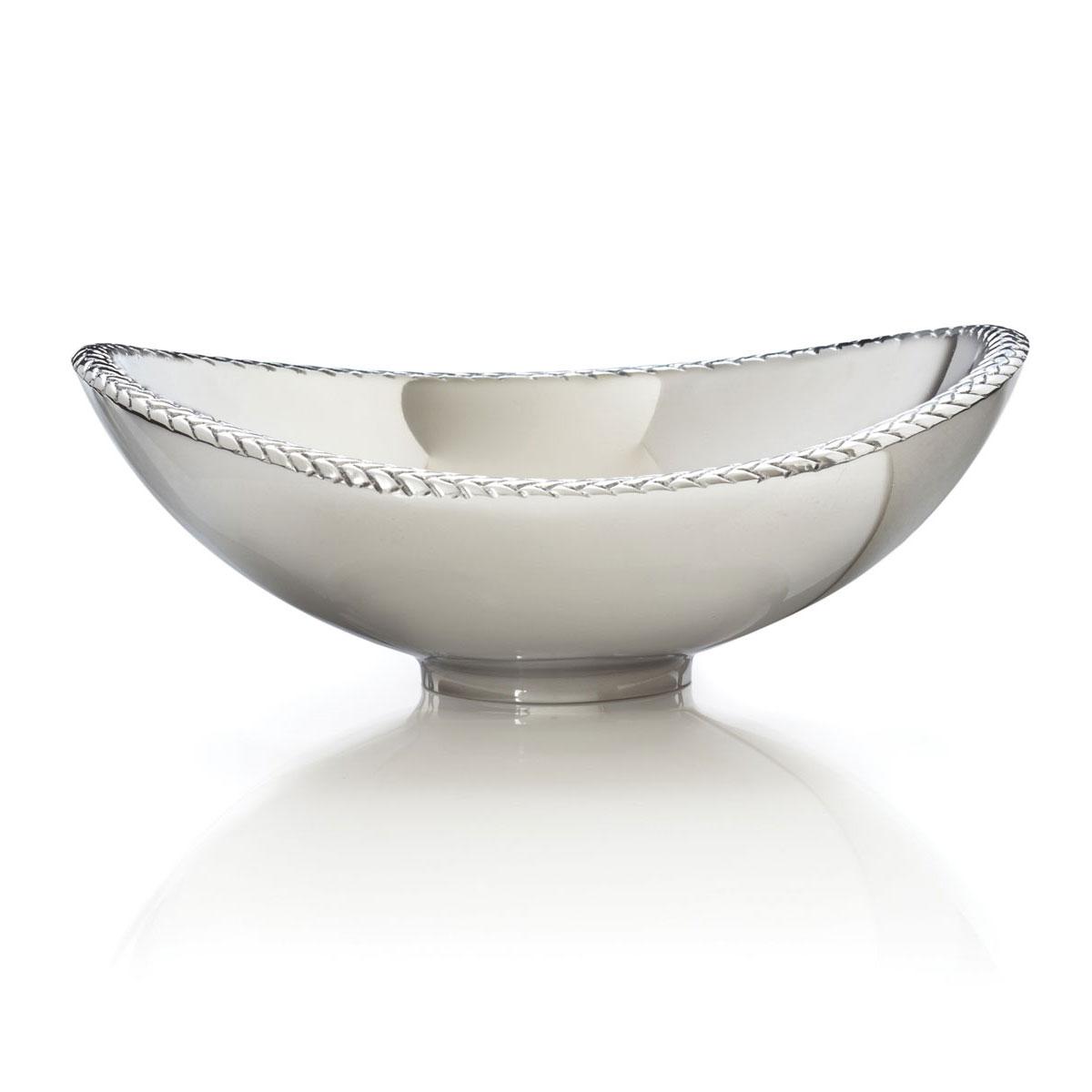 Nambe Metal Braid Nut Bowl