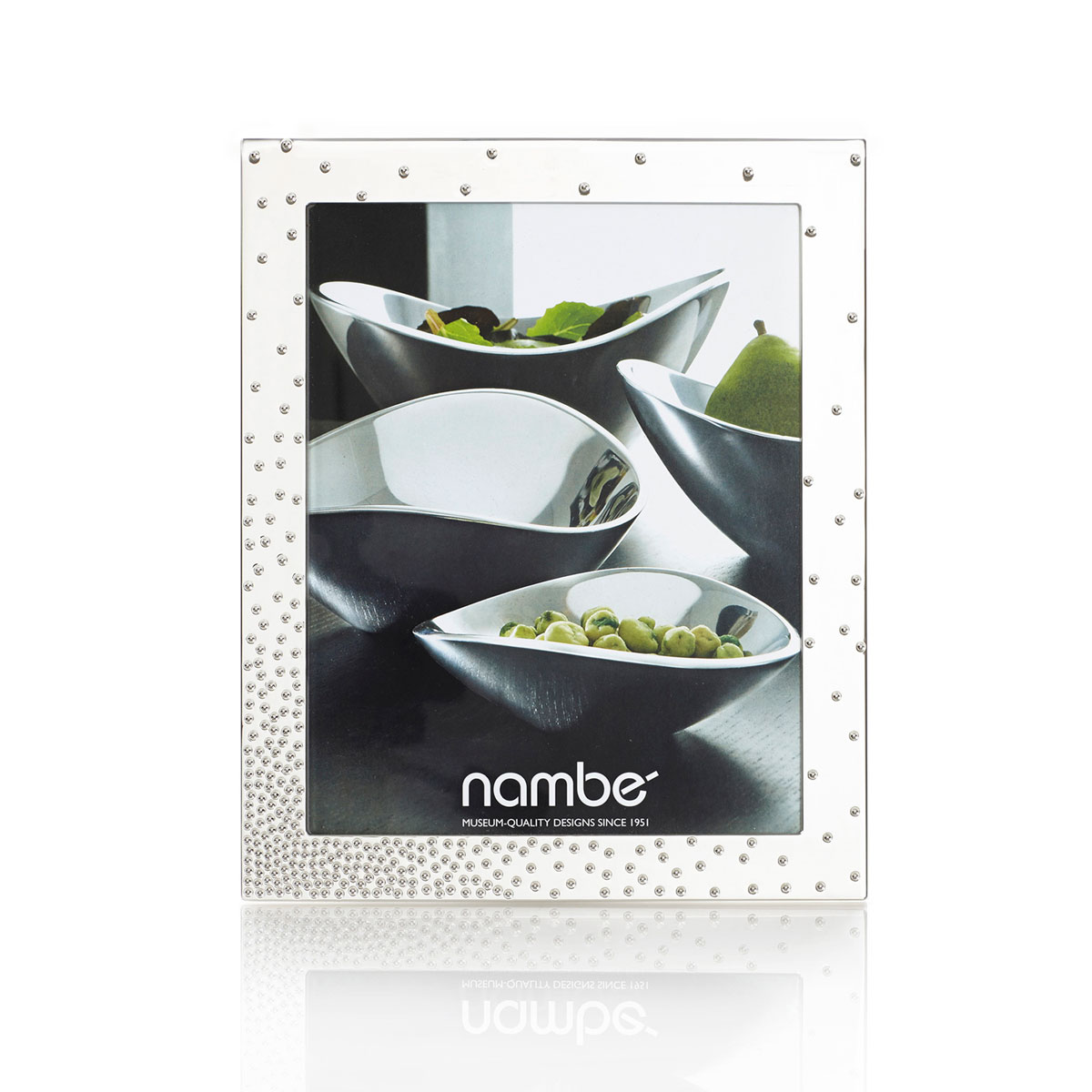 """Nambe Metal Dazzle Frame 8x10"""""""