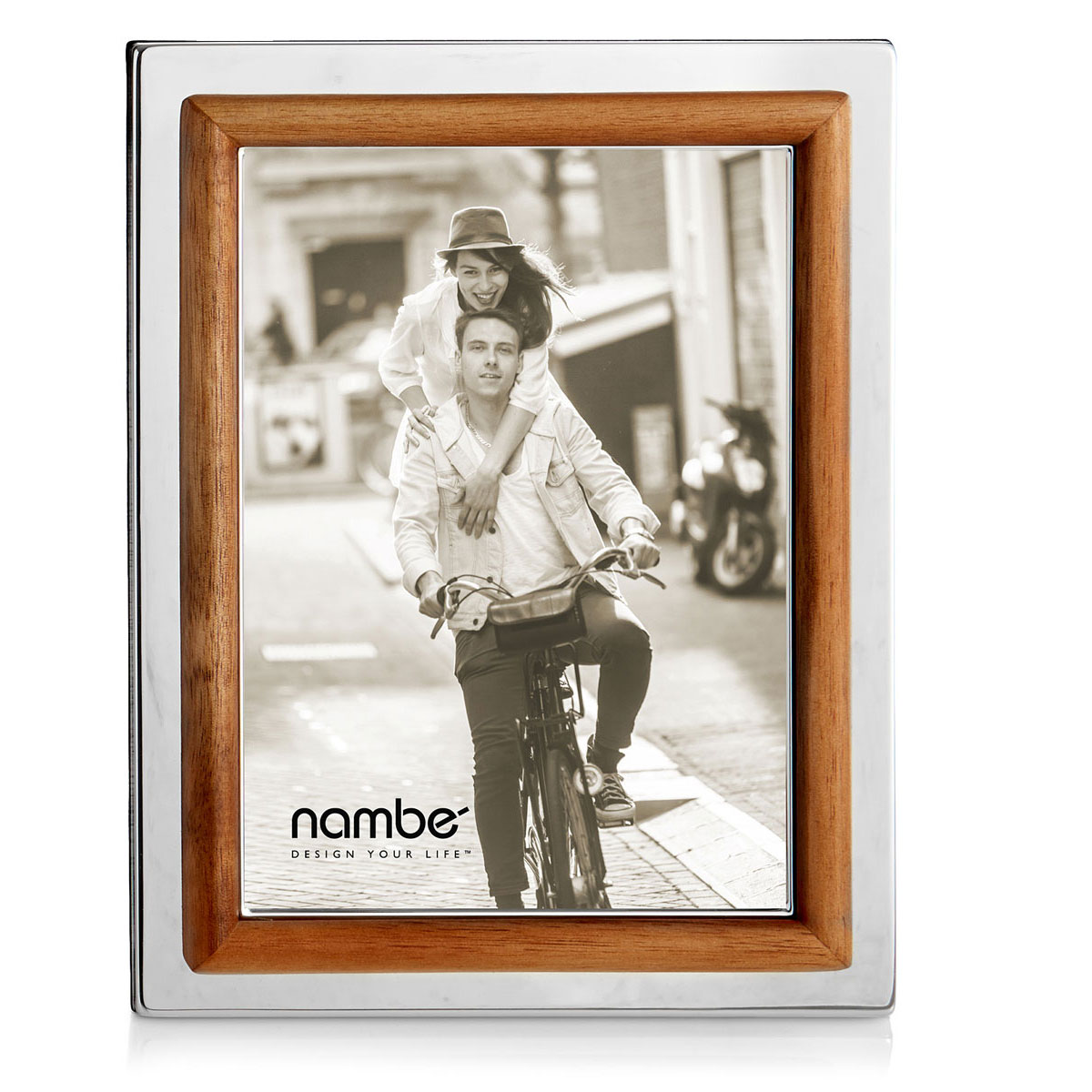 Nambe Hayden 5x7 Picture Frame
