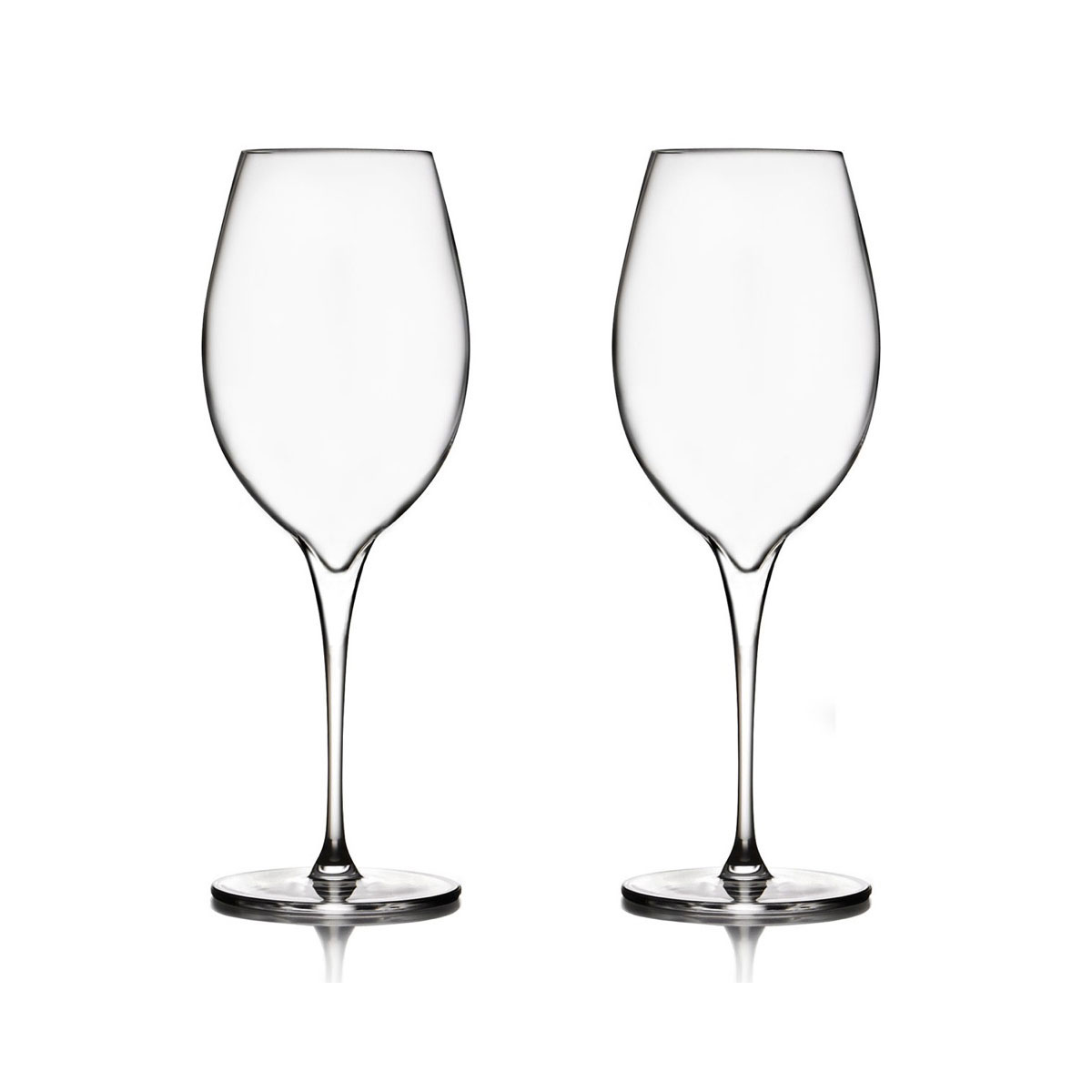 Nambe Vie Pinot Grigio Wine Glasses, Pair