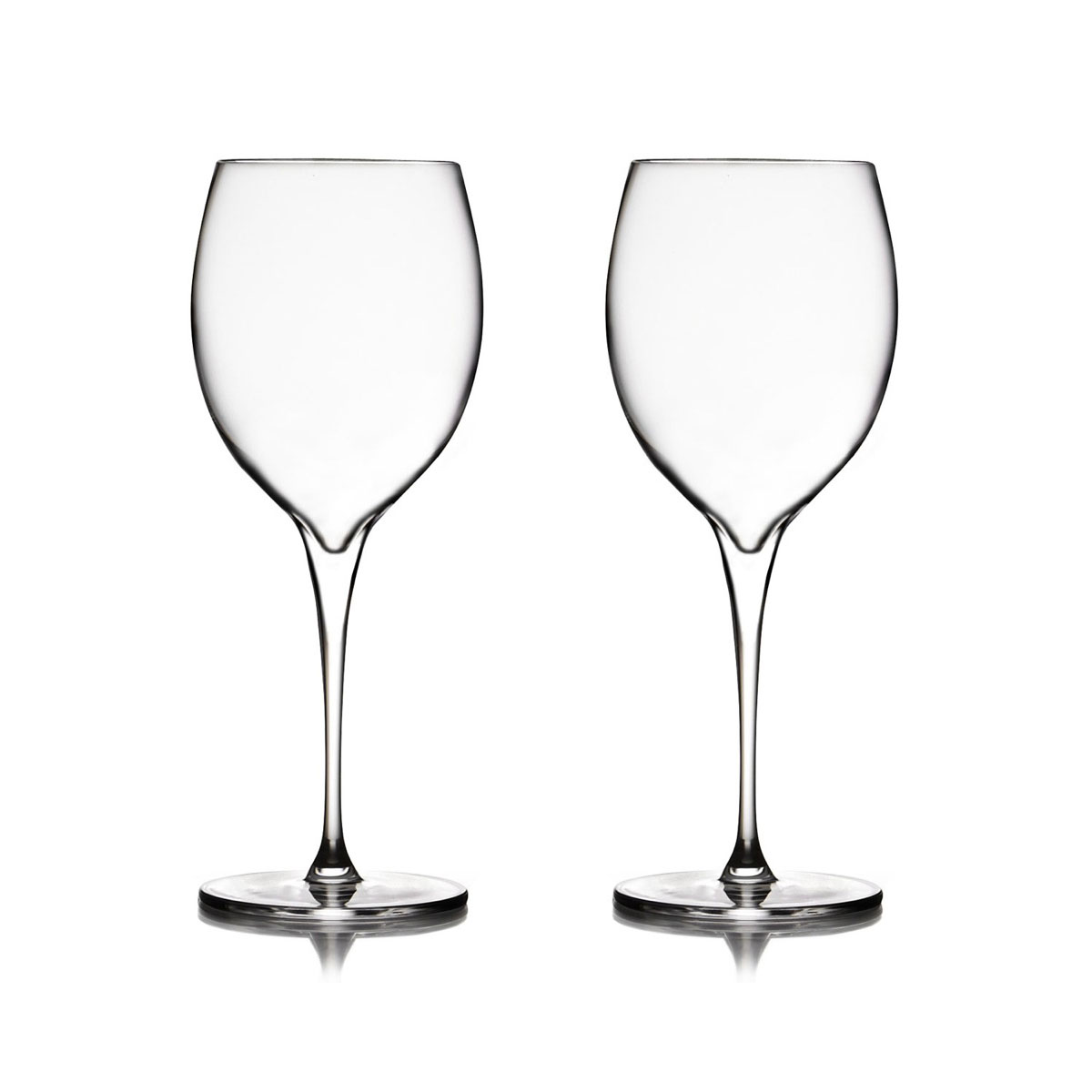 Nambe Vie Chardonnay Wine Glasses, Pair