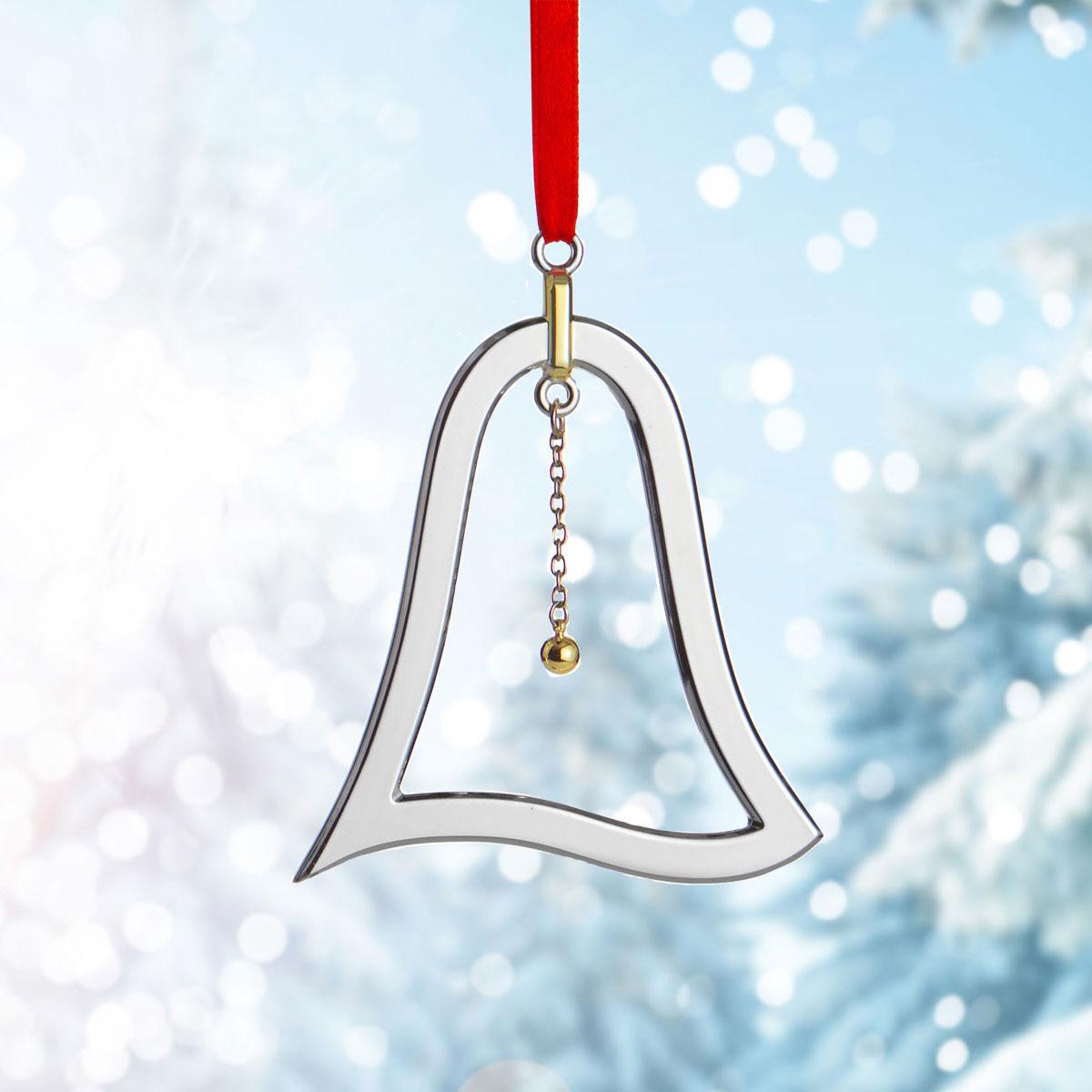Nambe Metal Bell Ornament