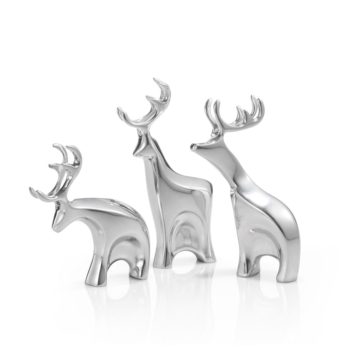 Nambe Christmas Mini Blizten Reindeer Set