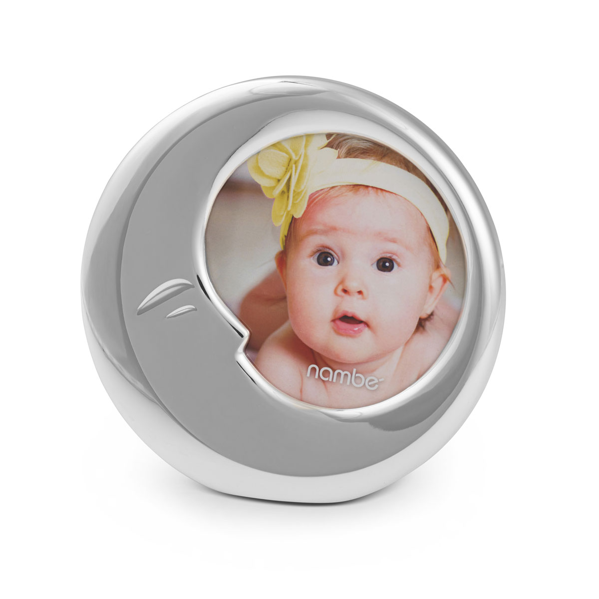 Nambe Baby Moon Picture Frame