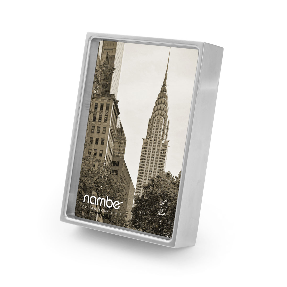 "Nambe Treso 4x6"" Picture Frame"