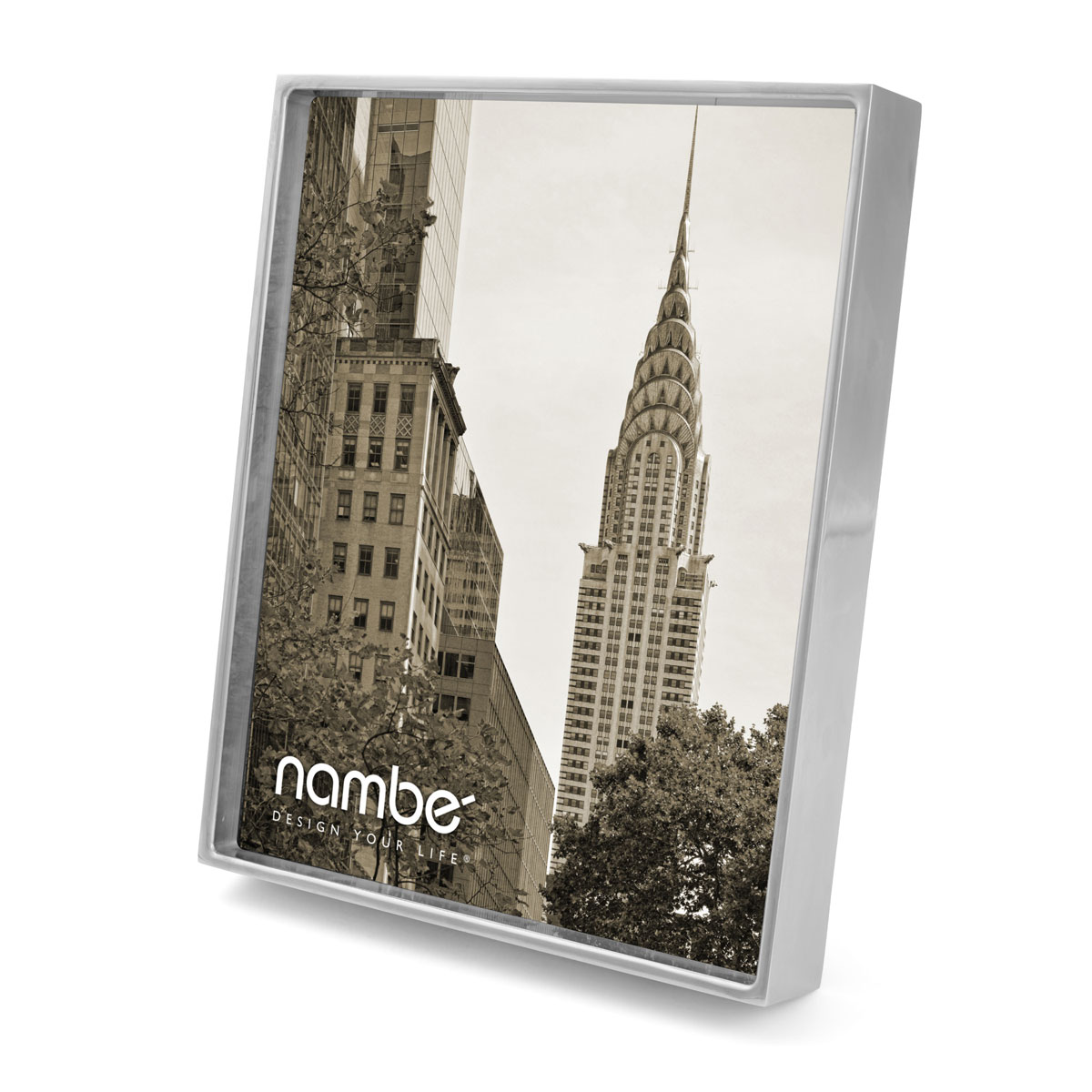 "Nambe Treso 8x10"" Picture Frame"