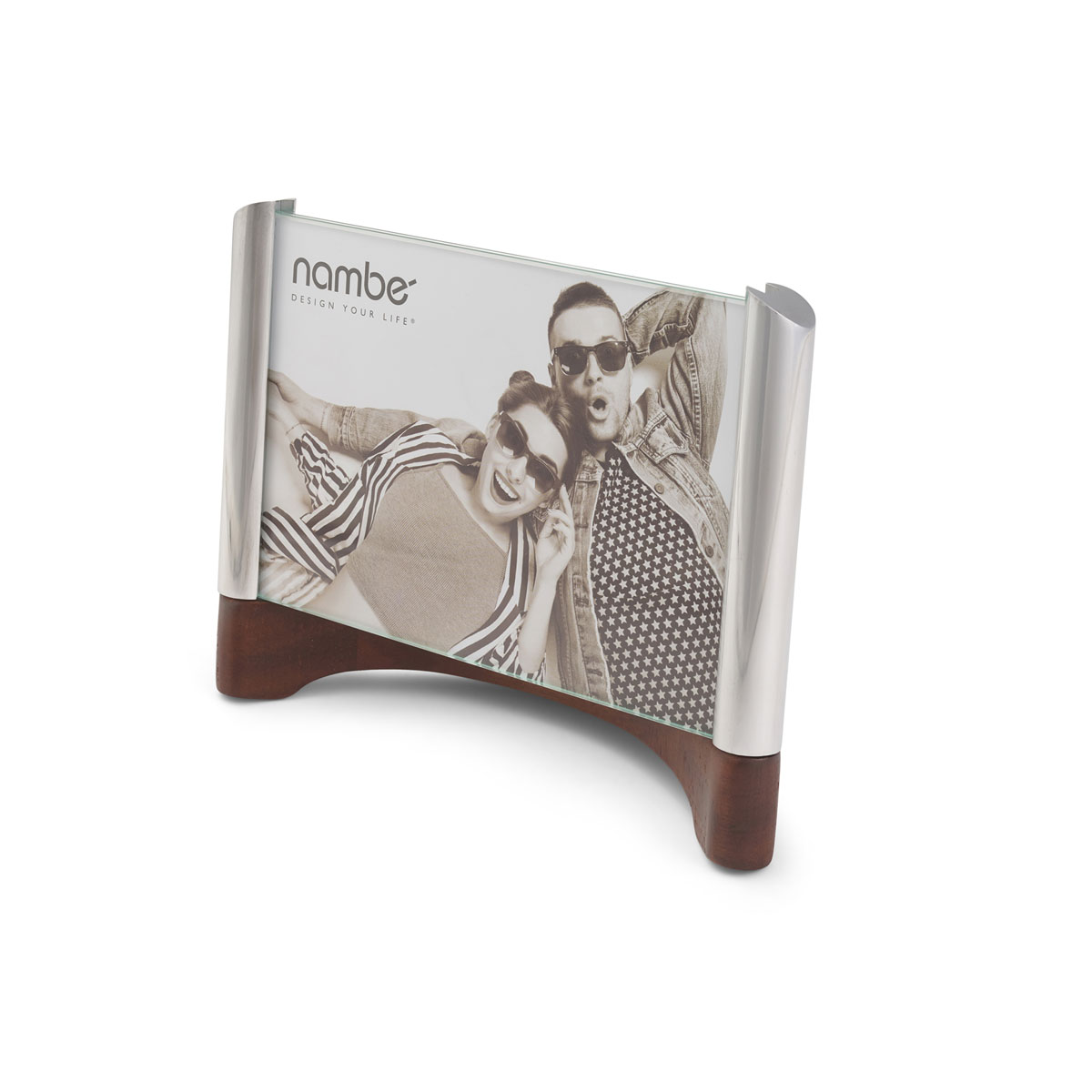 """Nambe Sky View 4x6"""" Picture Frame"""